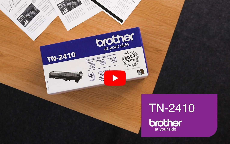 Cartouche de toner TN-2410 Brother originale – Noir  5